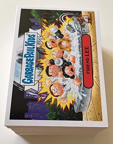 GARBAGE PAIL KIDS NEW SERIES - LOT of 50 DIFFERENT CARDS ()