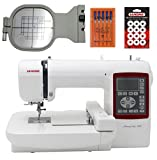 janome blue tip needles - Janome Memory Craft 230E Embroidery Machine With Exclusive Bonus Bundle