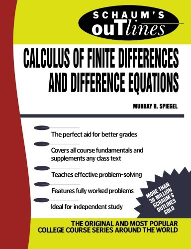 Schaum's Outline of Calculus of Finite Differences and Difference Equations