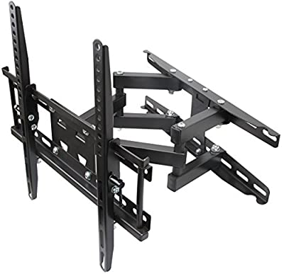 Husky Mounts for most 32 – 55 Inch Dual Arm Full Motion TV Wall Mount Bracket Tilt Swivel 66 Lbs Capacity