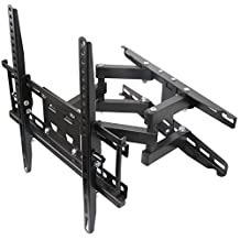 Full Motion TV Wall Mount VESA Bracket Fits most 32 39 40 42 46 47 50 52 55 Inch LED LCD Flat Screen with 66 lbs Maximum Weight