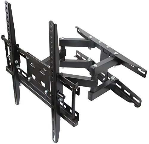 Husky Mounts Most 32-55 Inch Dual Arm Full Motion TV Wall Mo