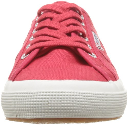 Superga Unisex-Erwachsene 2750 Cotu Classic Low-Top Rot (C62 Maroon Red)