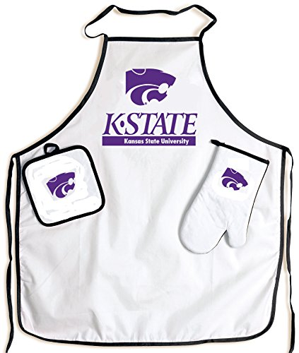 McArthur Kansas State University Wildcats Barbeque Tailgate Apron Set ()