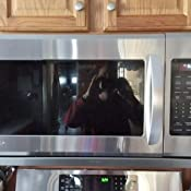 LG LMHM2237ST 2 2 Cubic Feet Over-The-Range Microwave Oven, Stainless Steel