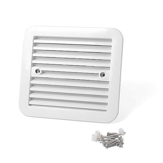 Gugutogo Blanco 12V Nevera Salida de ventilación Ventilación ...