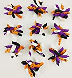 FidgetFidget Ribbon Hair Bows 10-100pcs Halloween Party for Pet Cat Dog Korker - 10pcs