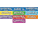 Teacher Created Resources Days of the Week Headliners (4491)
