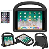 iPad Mini 1/2/3/4/5 Case for Kids, Soweiek Shockproof Protective Handle Bumper Stand Cover