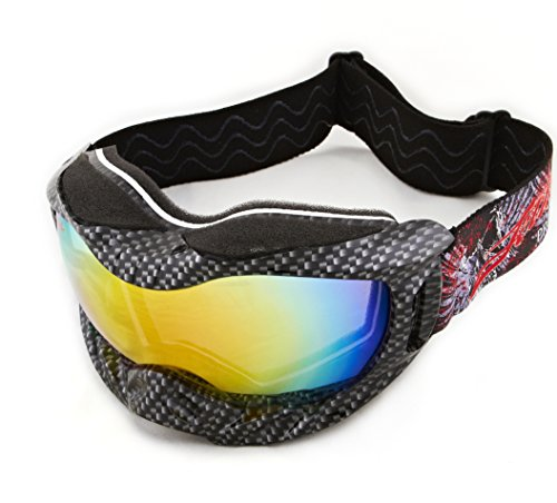 Carbon Fiber Helmet Goggles/Revo + Case PWC Floating Sunglasses Floating Water Jet Ski Goggles Sport Designed for Kite Boarding, Surfer, Kayak, Jetskiing, other water -