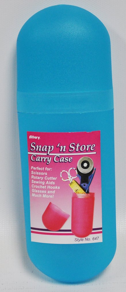 Snap N Store Carry Case Blue Allary