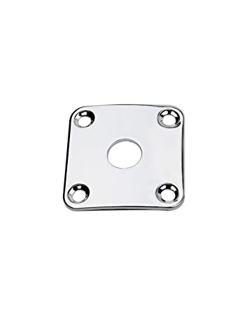 Amazon Com Guyker Guitar Jack Plate Square Curved