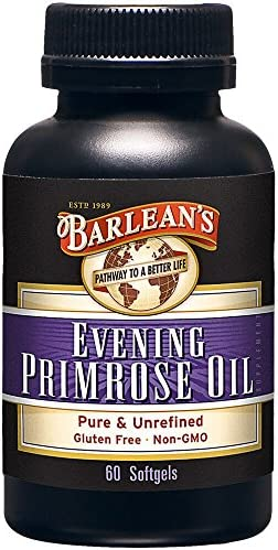 Barlean s Evening Primrose Oil Softgels, 60-Count Bottle