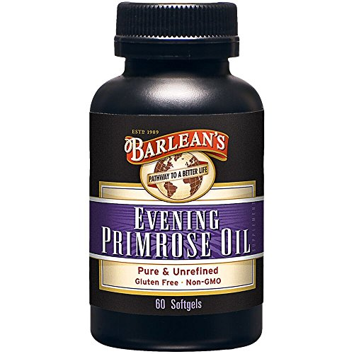 Barlean's Evening Primrose Oil Softgels, 60-Count Bottle