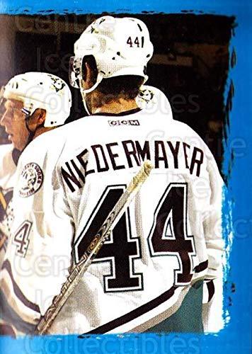 (CI) Petr Sykora, Rob Niedermayer, Anaheim Mighty Ducks Hockey Card 2003-04 Panini Stickers 205 Petr Sykora, Rob Niedermayer, Anaheim Mighty Ducks ()