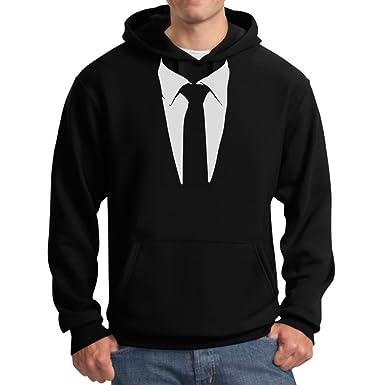 Tuxedo Tie Printed Suit Men\u0027s Hoodie