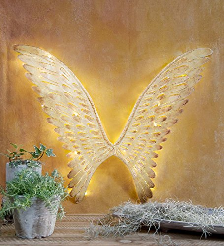 Outdoor Lighted Angel Yard - 6