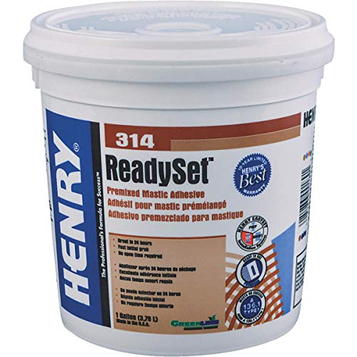 Henry HY314/SET044 1 Gallon Multipurpose Ceramic Tile Adhesive