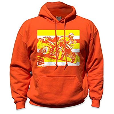 Nice SafetyShirtz Quad Safety Hoody Orange/ Yellow