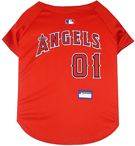 (MLB LA Angels Dog Jersey, XX-Large. - Pro Team Color Baseball Outfit)