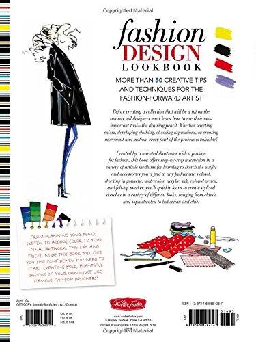 Amazon Com Fashion Design Lookbook More Than 50 Creative Tips And Techniques For The Fashion Forward Artist Walter Foster Studio 9781600584367 Lelarge Blandine Books