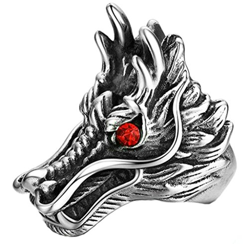 adisaer-stainless-steel-vintage-rings-for-men-gothic-dragon-head-round-red-cubic-zirconia-ring-size-