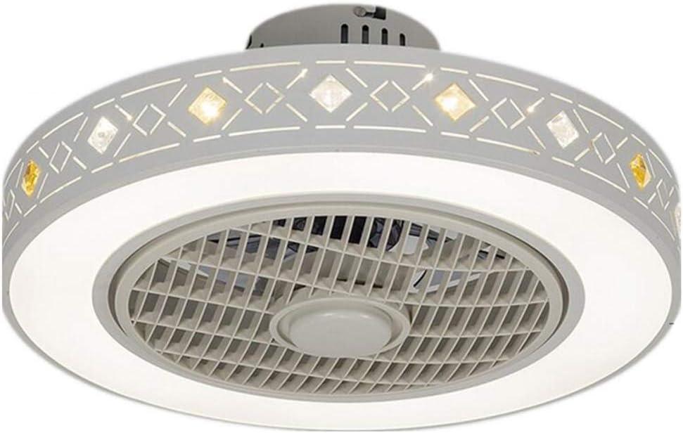 Luces Sigilo Ventilador De Techo, Lámpara De Techo Accesorios, Fresca Cubierta Luces De La Iluminación del Ventilador, Un Ventilador Eléctrico De La Luz del Ventilador/Blanco, LED
