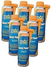 INOX® Diesel Power additief, brandstofsysteem additief voor alle dieselmotoren - 6 x 250 ml