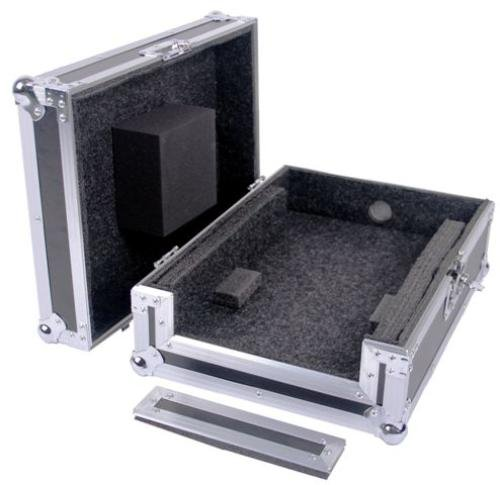 (Fly Drive Case For 12-Inch DJ Mixer or Similarly Sized Equipment for Mixers Like Behringer DDM-4000, DJX-750. DENON DN-X1500, DNX-1100, DN-X1700, and Pioneer DJM-800, DJM-700 DEEJAY LED TBH12MIXE)