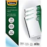 Fellowes Binding Presentation Covers, 8mil, Letter, 100 Pack, Clear (52089)