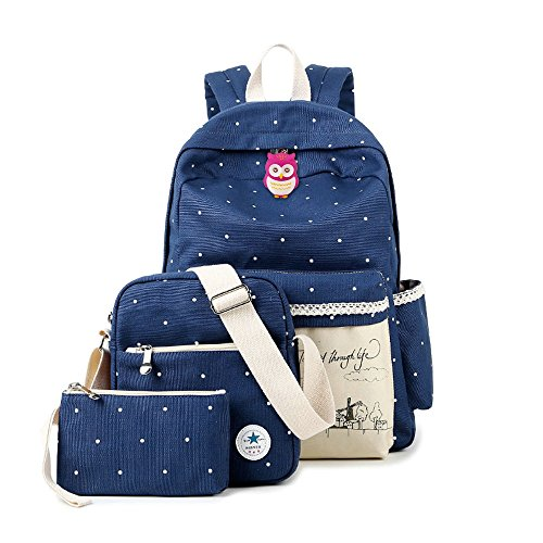 College Shoulder Backpacks Student Lightweight product image