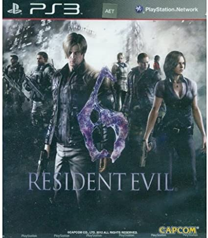 Resident Evil 6 (English, French, German, Italian, Japanese ...