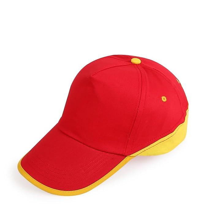 algodón sombrero de tela/Mosaico policromático haciendo publicidad del casquillo/Gorra de béisbol/Sombrero-A ajustable: Amazon.es: Ropa y accesorios