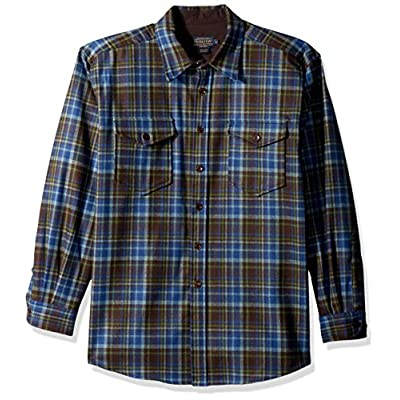 Hot Pendleton Men's Long Sleeve Button Front Classic-Fit Guide Shirt supplier