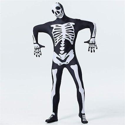 Halloween Kostuem Skelett Amazon.People Cos1 Unisex Zentai Cos Horror Halloween Skelett Kostum Ghost Festival Bodys Overalls Halloween Kostum Amazon De Sport Freizeit