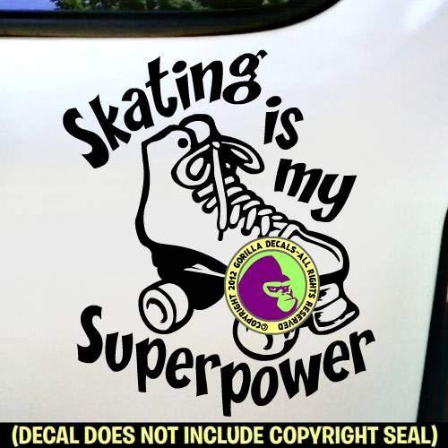Roller Skating Vinyl Decal Sticker B