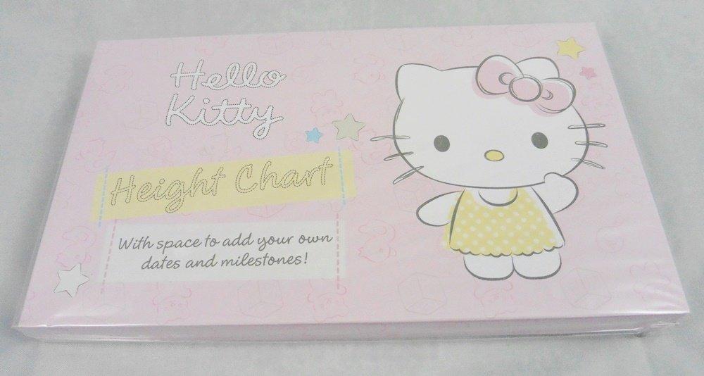 Hallmark Hello Kitty Card Height Chart Wall Mounted Growth Chart