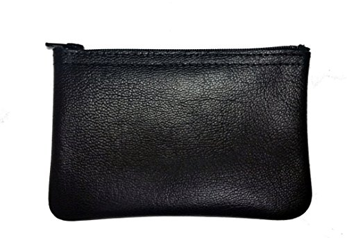 "MJL ""Classic"" Genuine Napa Leather Coin Purse. Buttery soft> Made in USA"