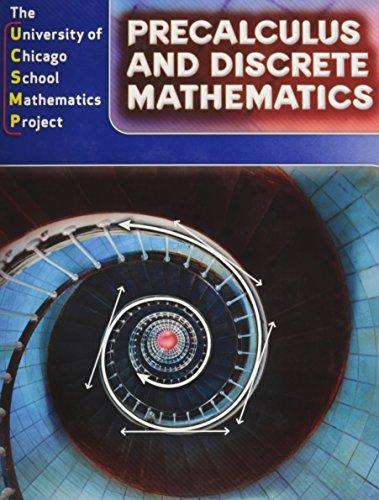 Precalculus and Discrete Mathematics (Math Pre Calculus 12 Textbook Mcgraw Hill)