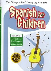 Bilingual Fun Spanish For Children Vol. 1
