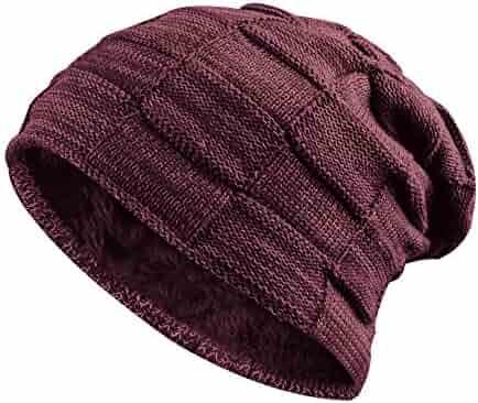 baf08e17c7c Hootech Slouchy Cable Knit Cuff Beanie - Chunky