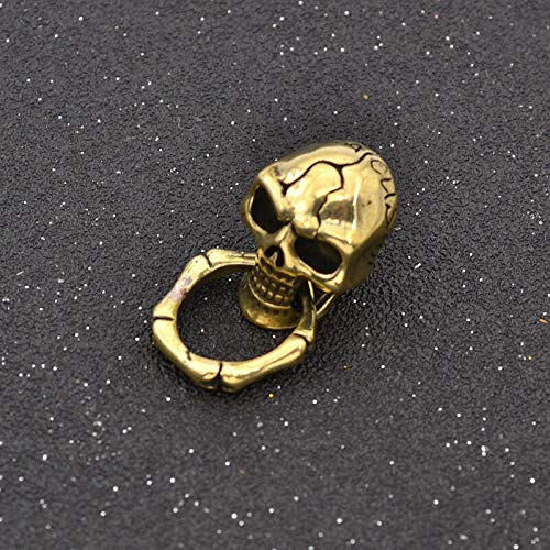 Fashion Metal Skull Rivet Stud Back Screw DIY Wallet Clothing Decor (Size - Skull) ()