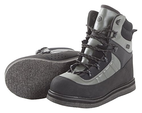 Allen Company Sweetwater Felt Sole Wading Boot, Gray/Black, Size 6 -  The Allen Company, 15796