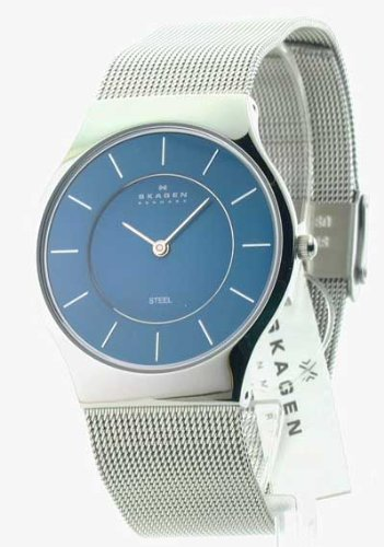 Mens Skagen Steel Ultra Slim Dress Watch 233LSSN, Watch Central