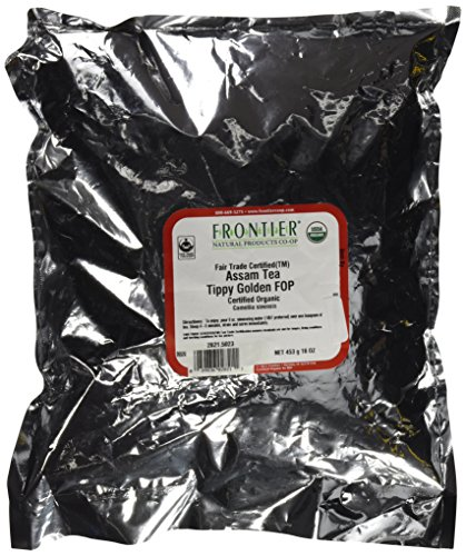 Loose Leaf Assam - Assam Organic & Fair Trade - 1 lb,(Frontier)