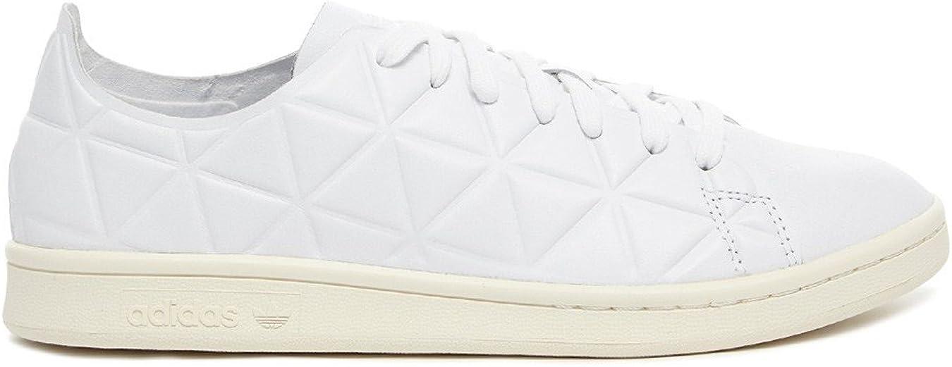 adidas Stan Smith Polygone Baskets Blanches Femme: