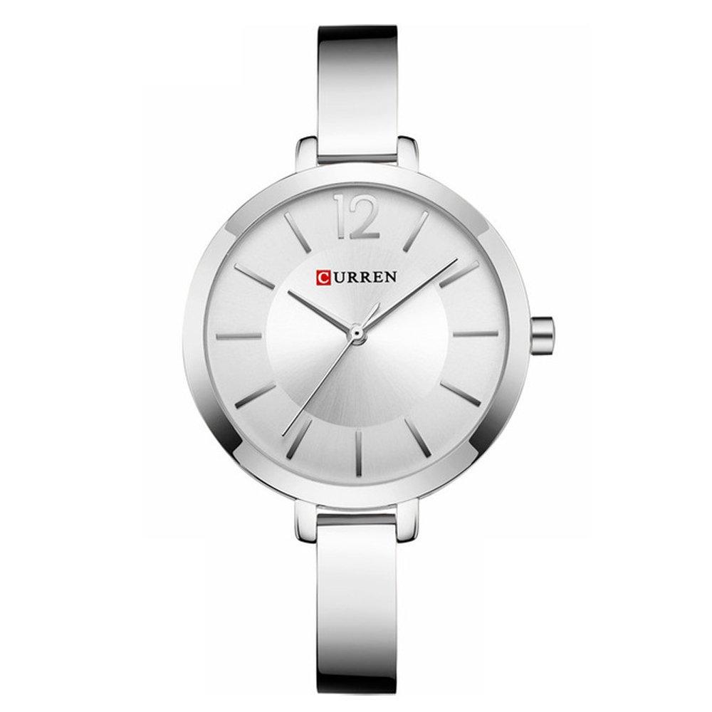 CURREN Original Women s Girls Sports Waterproof Stainless Steel Quartz Wrist Watch 9012