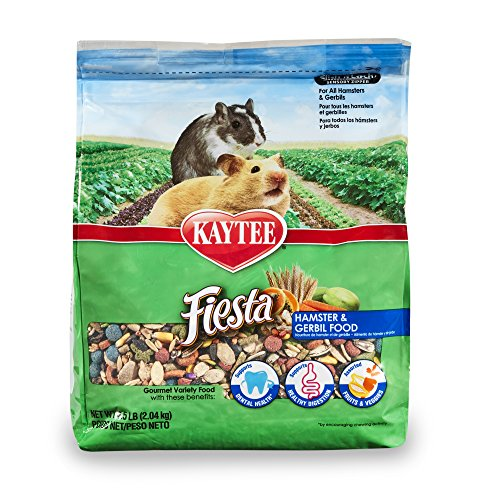 Cheap Kaytee Fiesta Hamster and Gerbil Food, 4.5-lb bag