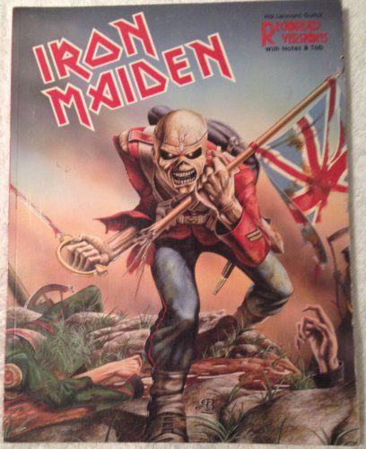 Iron Maiden Guitar Recorded Versions With Tablature – Words and Chords