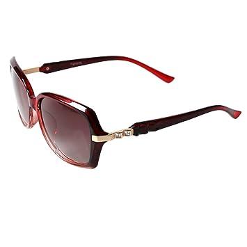 Sonnenbrillen Sonnenbrille weibliche polarisierte Mode elegante Anti-UV-Laufwerk Gläser (Farbe : Lila) K4yr0